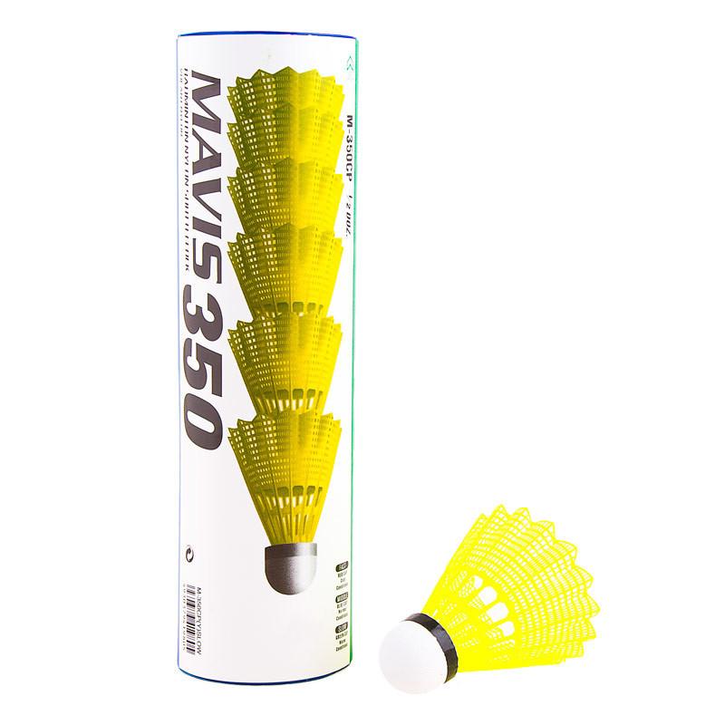 Волани Mavis Yonex 500, жовтий, нейлон, 1 шт.