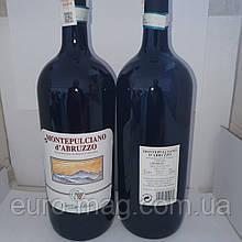 Вино сухое красное Montepulciano Cantine fabri 1,5 л 12.5% Монтепульчиано Фабрі
