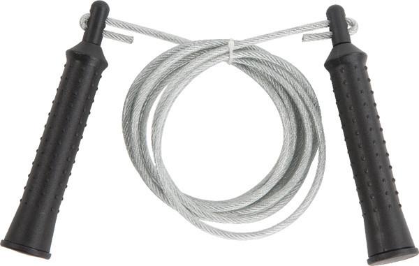 Скакалка IronMaster 97176, с подшипником и стальным тросом (L-2,8 м)