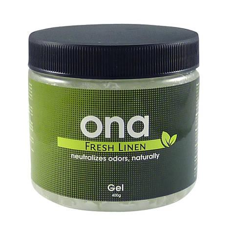 Нейтрализатор запаха Гель ONA Fresh Linen 400 гр, фото 2