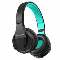 Беспроводные наушники Bluetooth Borofone BO10 Black-Green