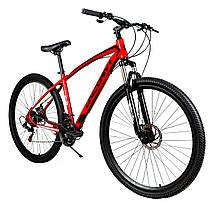 """Спортивный велосипед Unicorn - Thunder 29"""" Колеса Рама 18"""" Черно-желтый, фото 2"""