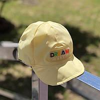 Детская  кепка Makko (светло-желтый)
