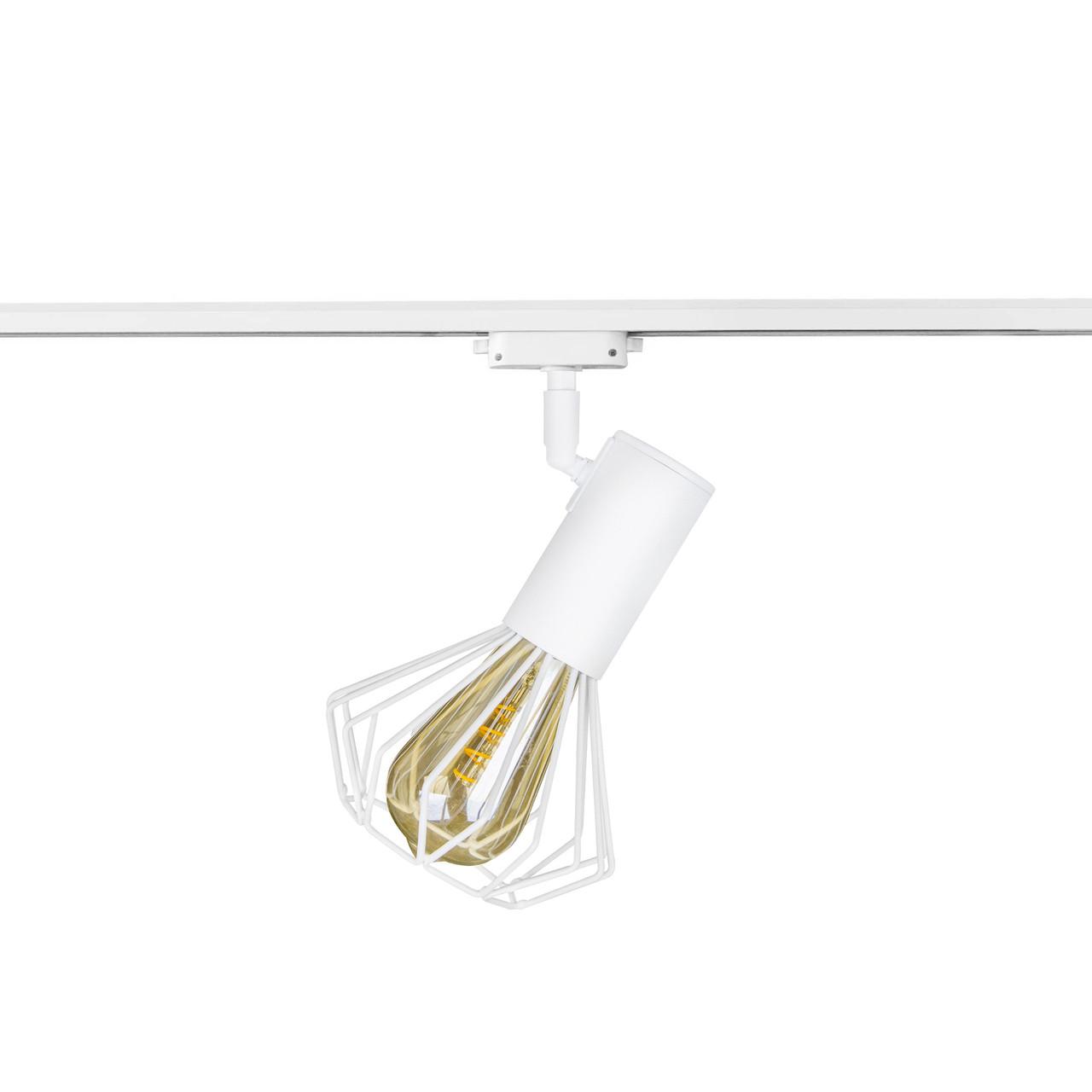 Світильник трековий MSK Electric Diadem в стилі лофт NT 22151-1 WH