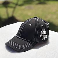 Детская кепка FOR YOU (черный)