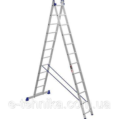 Лестница 2-х секционная Stark SVHR2x12