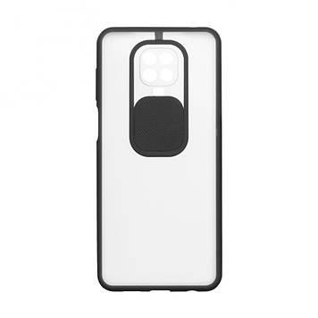 Чехол Totu Curtain для Xiaomi Redmi Note 9 Pro Черный