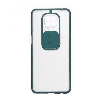 Чехол Totu Curtain для Xiaomi Redmi Note 9 Pro Зелёный