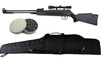 Пневматическая винтовка Air Rifle WF600P + прицел 4х20 + пули Oztay 0,51 + чехол