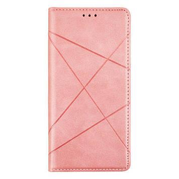 Чехол-книжка Totu Business для Samsung Galaxy S21 Ultra SM-G998 Розовый