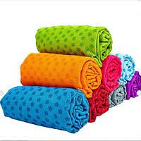 Коврик-полотенце для йоги фитнеса и пилатеса(Yoga mat towel) FI-4938