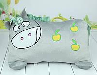 Мягкая игрушка подушка лошадка, плюшевая подушка лошадка, 37 см., фото 1