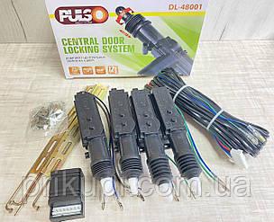 Комплект центральных замков PULSO DL-48001 / 8 PIN на 4 двери (без пультов), фото 2