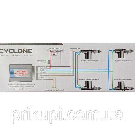 Комплект центральных замков Cyclone DLS-221 на 4 двери (без пультов ДУ), фото 2