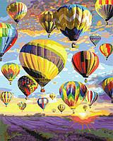 Картина рисование по номерам Мечты в небе 40х50см набор для росписи, краски, кисти, холст