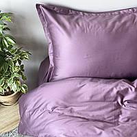 Постельное белье полуторное Комильфо люкс-сатин 160х220 светло-фиолетовый KT1225