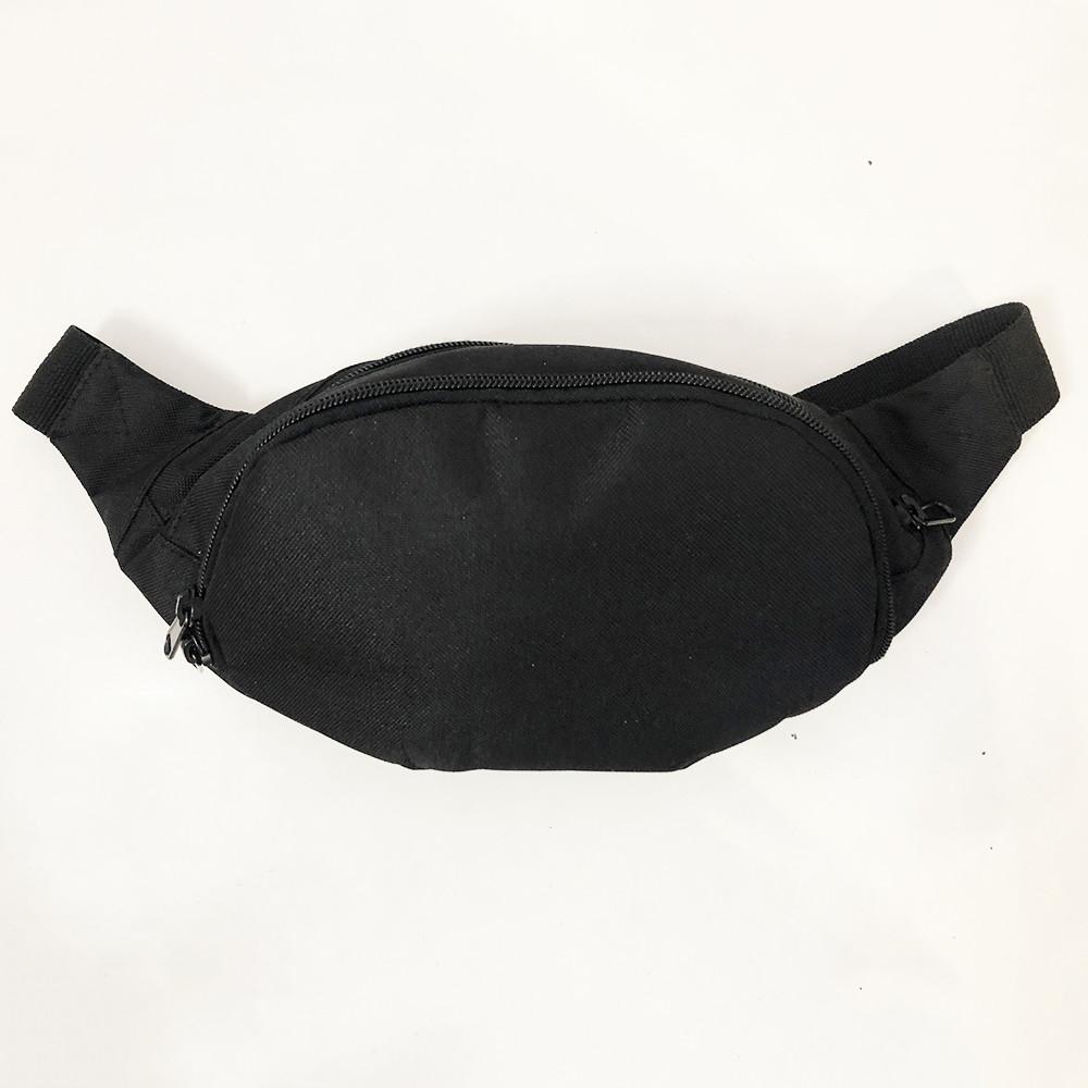 Бананка из ткани. Сумка для торговли. Сумка через плечо. Модель: 33885. Цвет: черный