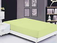 ТМ TAG Простынь на резинке (160х200х20) Luminary Green