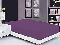 ТМ TAG Простынь на резинке (160х200х20) Sunset Purple