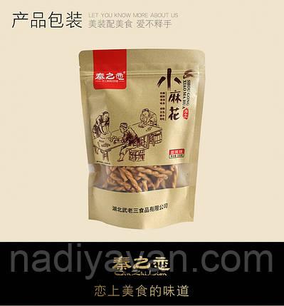 Цінь Жилян ручної роботи - хрустка сушка - смак барбекю 128г, фото 2