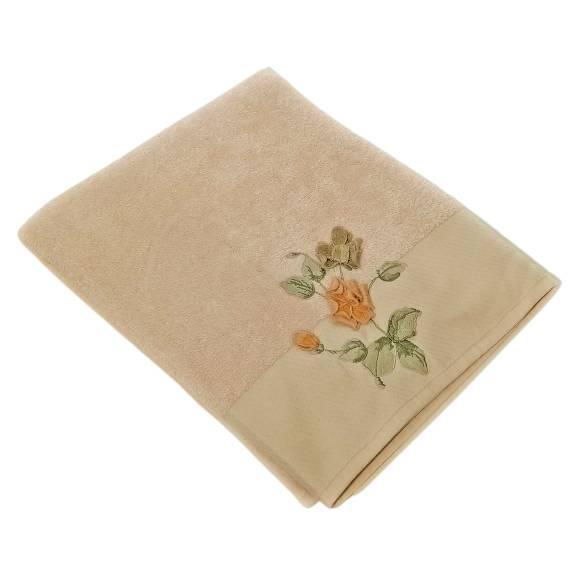Махровое банное полотенце Цветок 150х90 см, 100% Хлопок, TM Maribor, Турция