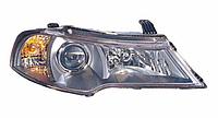 Фара левая Daewoo Nexia I (N150) (рестайлинг) 2008 - 2014, электр., темный корпус, (FPS, FP 2202 R1-P) OE