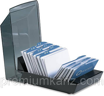Закрывающаяся визитница для 100 визиток 57х102мм  ROLODEX