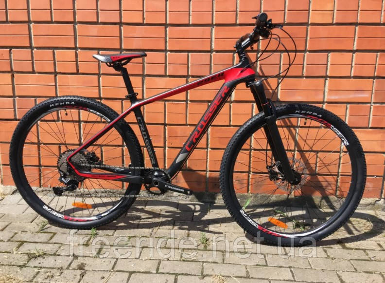 Карбоновий Велосипед Crosser Genesis 29 Carbon (18) гідравліка Deore