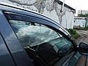 Ветровики вставные для SUZUKI SX4 SEDAN 2006+ Heko Team, фото 7