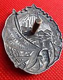 Орден Трудового Красного Знамени Таджикской ССР №214 серебро копия, фото 4