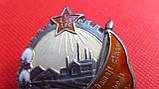 Орден Трудового Красного Знамени Таджикской ССР №214 серебро копия, фото 7