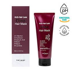 Безсульфатна живильна маска проти випадіння волосся Trimay Anti-Hair Loss Clinic Hair Mask