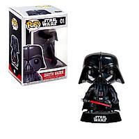 Игровая Фигурка Funko Pop Darth Vader! Серии Звёздные Войны - Дарт Вейдер (Со Световым Мечом) 2300