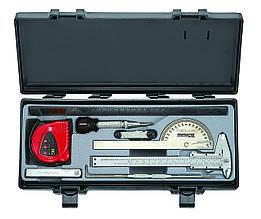Набір вимірювальних інструментів 9 пр. (FORCE 5096)