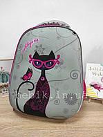 Дитячий рюкзак  з принтом кота