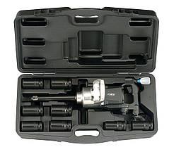 """1"""" Набір гайковерта (2 720 Нм) і ударних головок 6-гр. 10 пр. (27-41 мм) (FORCE 8091D-1)"""