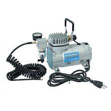 Миникомпрессор низького тиску з фільтром і шлангом 1/8HP (Sumake MC-1100HFGM)