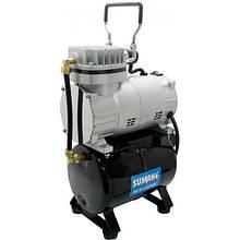 Миникомпрессор низького тиску з ресивером, регулятором і шлангом 1/8HP (Sumake MC-1100THRGM)