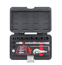 Набор спецключей для работы с поврежденными крепежами (гайки и шпильки) 20 пр. (FORCE 920U3)
