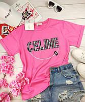 Стильная женская футболка СЕЛИН