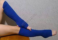 Гетры 40 см синие
