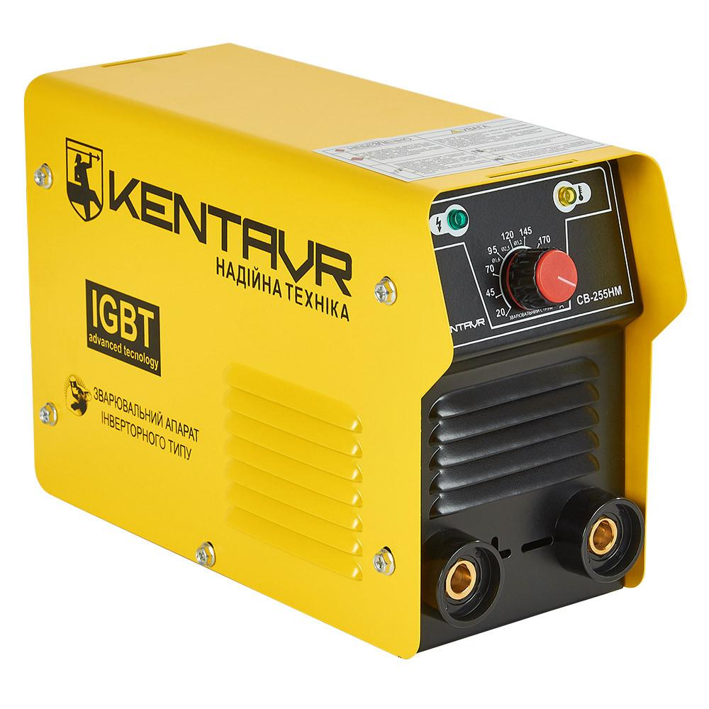 Сварочные аппарат Кентавр СВ-255НM Инвертор постоянного тока ММА форсаж дуги компактный для дома 10 кВт 220 В