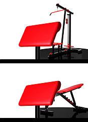 Приставка Скотта WCG 1 Красный, КОД: 1375603
