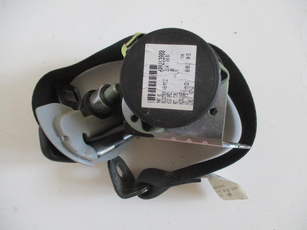 Ремінь безпеки задній лівий 609213900, 6092103 999577 Mitsubishi Outlander XL