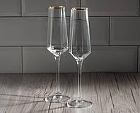 """Набор бокалов для шампанского """"Диамант"""" 200 мл, 2 шт."""