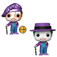 """Игровая фигурка Funko POP! cерии Batman 1989"""" - Joker with hat Chase"""" 47709"""