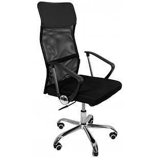 Офисное компьютерное кресло Bonro Manager 2 сетка рабочее для компьютера, офиса, дома