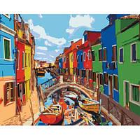 Картина по номерам Краски города 40x50 см Идейка