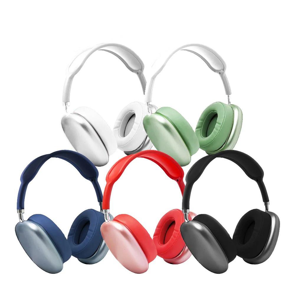 Беспроводные наушники с оголовьем Apl Air Max P9 Bluetooth гарнитура с микрофоном для телефона iphone, android