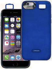 Акумуляторний чохол Joyroom для iPhone 6/6S на 3000mAh з підсвічуванням [Синій (темний)]